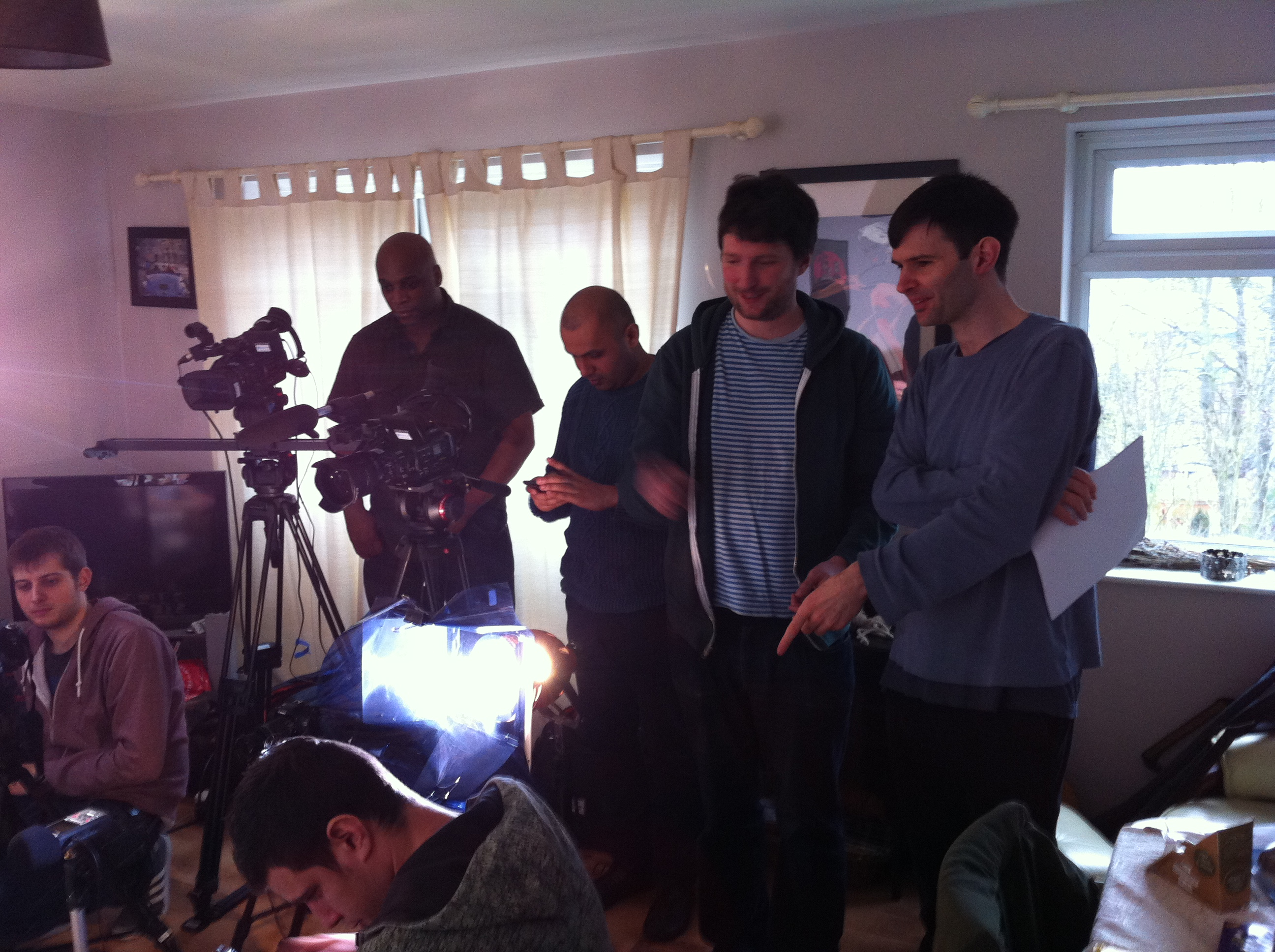 The_writer_director_and_crew
